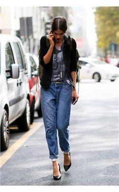 20 τρόποι να φορέσουμε το τζιν τώρα