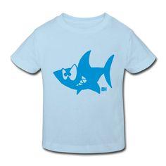 Hai T-shirt design. #Spreadshirt #Cardvibes #Tekenaartje #SOLD #shark