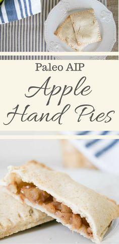 paleo aio apple hand pies