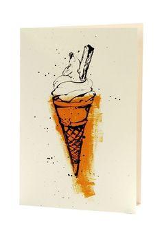 Love this art - Ice Cream Cone