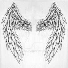 angel wings by BMXNINJA.deviantart.com on @DeviantArt