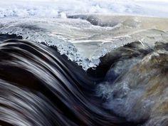 Melting Spring Stream, Finland by Kyle Ueckermann