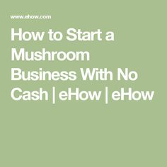 Mushroom beauty business card template beauty business cards how to start a mushroom business with no cash colourmoves