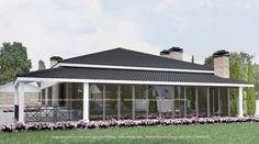 Проекты одноэтажных загородных домов село Большой Дальник Одесса Архимас