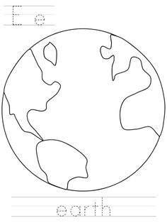 Dltk Earth Day Coloring Pages