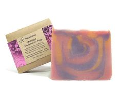 Midnight Pomegranate Soap Handmade Soap Vegan by SimpleHomeAccents