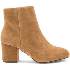 Splendid Daniella Bootie (£115) ❤ liked on Polyvore featuring shoes, boots, ankle booties, booties, ankle boots, mid heel booties, splendid booties, mid heel ankle boots and mid-heel boots