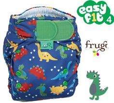 Frugi Dino Party Nappy by TotsBots
