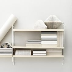 STRING POCKET - Wall shelves