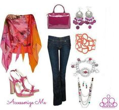 Love this outfit .... accessories by Paparazzi only $5 www.paparazziaccessories.com/8181