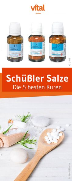 Die 5 besten Kuren mit Schüssler Salzen In combination with each other, the different Schuessler salts can wonderfully complement and unfold, providing fabulous homeopathic help for almost any problem. We show you the 5 best cures with Schüßler salts. Tissue Salts, Detox Diet For Weight Loss, Body Detox, Blog Love, How To Increase Energy, Detox Recipes, Plated Desserts, The Cure, Clean Eating