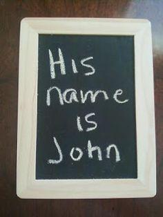 Bible Fun For Kids: Birth of John the Baptist