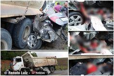 Quatro pessoas morreram em um grave acidente, ocorrido na manhã desta sexta-feira (8 de fevereiro de 20113), em um trecho da rodovia BR-104,