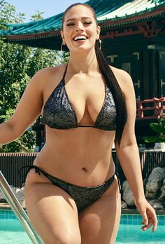 Plus Size Swimsuits High Waisted