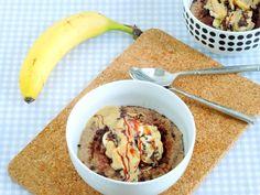 dscn5394 Kakao, Cereal, Oatmeal, Breakfast, Food, Peanut Butter, Food Food, Recipes, The Oatmeal
