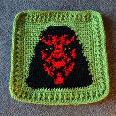 A Galaxy Far, Far Away | Not All Who Wander Are Lost 32 Star Wars Crochet, Crochet Stars, Crochet Baby Blanket Free Pattern, Free Crochet, Crochet Blankets, Afghan Patterns, Cross Stitch Patterns, Crochet Patterns, Crochet Ideas
