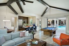 Interesting Interior Design Features of Model Homes - contemporary - Family Room - Tampa - Arthur Rutenberg Homes