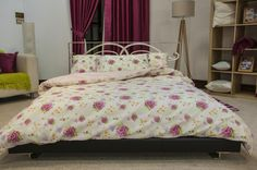 These cotton rich bed linen set combines the softness of cotton and the strength and durability of polyester. With 8 beautiful designs to choose from both modern and classic you will be sure to find one to suit your style. This easy-care duvet cover can be a real time saver as it washes well and requires minimal ironing with temperature settings provided. From £8.99 via ww.lancashiretextiles.co.uk #floral #pattern #home #bedding #interior #sleep #relax