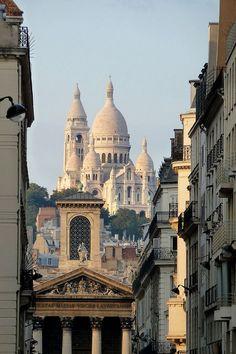View from Boulevard Haussmann, Paris