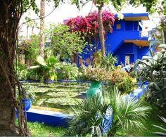 Yves St. Laurent's house in Marrakech Back of House: Travel to-do list