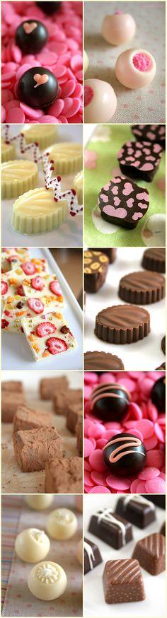 Home made chocolates~^^