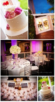 Cake, Desserts & Tables at our La Valencia Wedding by Couture Events
