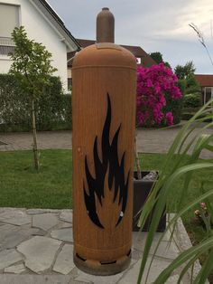 Feuertonne - Flamme 1