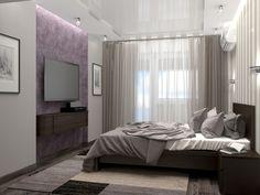 Очень маленькая квартира. Спальня