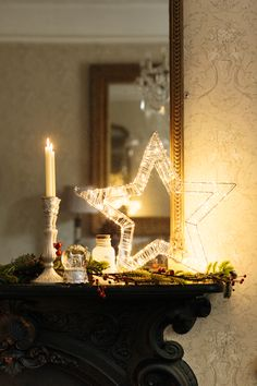 Wire Star W/led Lights : For a Christmas ambience that you and your family will treasure. Outdoor Christmas, Christmas Lights, Birthday Candles, Indoor Outdoor, Stars, Christmas Fairy Lights, Sterne, Star, Inside Outside