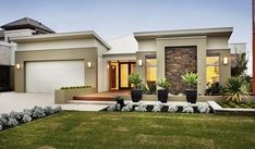 fabulous modern single storey house plans for your
