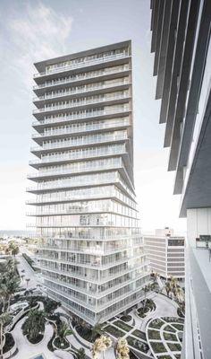 마이애미 그랜드베이 그로브 콘도미니엄 프로젝트. 건축설계 - BIG 건축사사무소 : 네이버 블로그