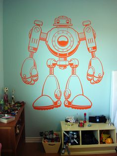 Sullivans Giant Robot Room Small Kids, Big Color Entry # 46 | Apartment Therapy Ohdeedoh