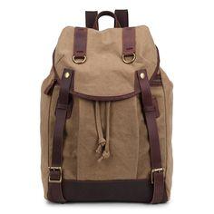 Resultado de imagem para mochilas  saco de lona canvas