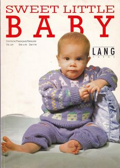 Sweet Little Baby Knitting Patterns, By Lang Yarns Number Patterns are in Dutch, French and English, Tons of Sweet Baby Clothes by OnceUponAnHeirloom on Etsy Diy Crafts Knitting, Easy Knitting, Knitting Machine Patterns, Sweater Knitting Patterns, Mittens Pattern, Beanie Pattern, Beginner Knit Scarf, Diy Scarf, Lang Yarns