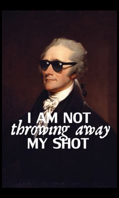 AL-EX-AND-ER we are meant to be #Hamilton #musical