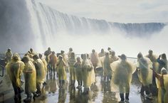 Toronto's Top 10 : Niagara Falls - Journey Behind the Falls    Rock tunnels behind the Horseshoe Falls lead you past a wall of water so thick it blocks out daylight. The vantage point, well below the gorge's rim, is awe-inspiring. Rain ponchos are provided – and necessary.