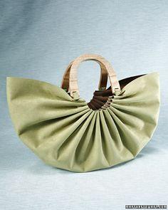 DIY - sac suedine
