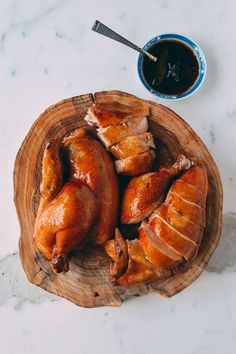Soy Sauce Chicken is a quintessential Chinese favorite, found hanging under heat lamps in many Chinatown restaurant windows. Check out our authentic recipe. Soy Sauce Chicken, Chicken Stir Fry, Carne, Chicken Over Rice, Wok Of Life, Poached Chicken, Asian Cooking, Sushi, Asian Recipes