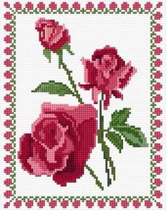 Cross Stitch Designs, Cross Stitch Patterns, Cross Stitch Calculator, Stitch Delight, Free To Use Images, Cross Stitch Rose, Free Design, Embroidery Patterns, Crochet