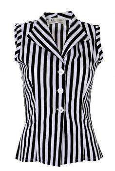 Tara Starlet | Sleeveless Shirt £35.00