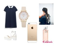 """""""Flavias set"""" by soenaprincess ❤ liked on Polyvore featuring Floss Gloss and Calvin Klein"""