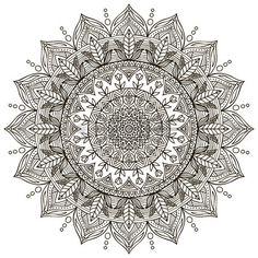 Resultado de imagem para dowload de mandalas para colorir