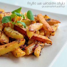 Homemade Roasted Fries with Italian Seasoning Italian Seasoning, Sweet Potato, Carrots, Fries, Roast, Potatoes, Homemade, Vegetables, Food