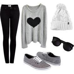 Hot Winter Fashion Ideas: Are you looking for some winter outfits for young school and college going girls? You would love reading this because Outfit Trends bring you some super cool winter fashion ideas for teens. Outfits Teenager Mädchen, Teenager Mode, Cute Teen Outfits, Cute Winter Outfits, Fall Outfits, Casual Outfits, Winter Clothes, Outfit Winter, Winter Wear