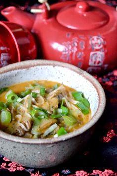 S vášní pro jídlo: Asijská kokosová polévka s houbami Ethnic Recipes, Food, Essen, Meals, Yemek, Eten