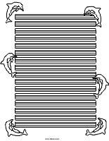 Delfin Briefpapier