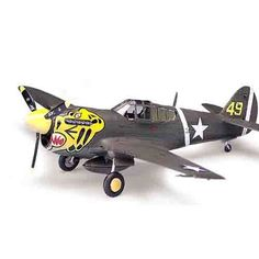 "Aircraft Aero Military Model 1/72 P-40E ""Warhawk"" U.S Air Force #12468"