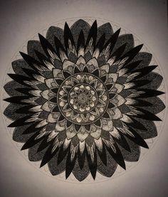 واحده جديده ... اعتقد انني لم انتهي منها بعد .  My new mandala ... Not finish yet 😬 #artwork#mandalalovers#drawingart#zentangle#zentangleart#zentanglemandalalove#zentangles #artistic#doodle#doodleart#mandala#graphic#loversart#art#artistic#painting#graphicart#graphicdesign#graphicdesigner#emotion#imagination#mandalastyle#mandaladoodle#mandalaflower #draw#drawing#gallery#flowers#graphic#black_and_white#photo#taken_by_me📷
