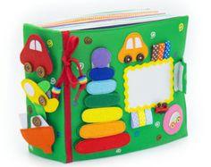 Quiet Book/Children's Quiet Book/ Busy Book by WeriBeauties