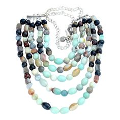 Earth to sky statement necklace